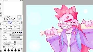 Pink Pastel Punk - Speedpaint