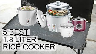 Top 5 Best Electric Rice Cooker 1.8 Litre in India 2018