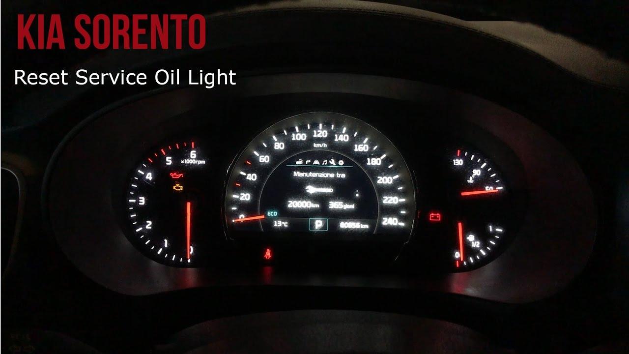 Change Reset Light Oil