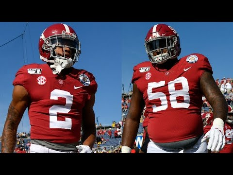 Top Returning Defensive Players For The Alabama Crimson Tide In 2020