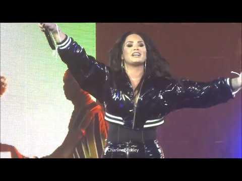 Demi Lovato - Echame La Culpa - 04.06.18 - Zenith Paris