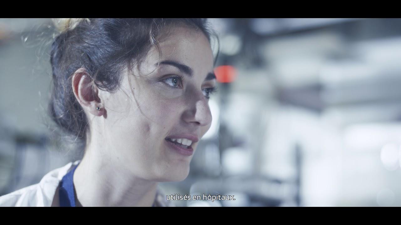 Lien vers la vidéo : <p>Portrait d&#39;apprentie : Fanny #JeFabriqueMonAvenir</p>