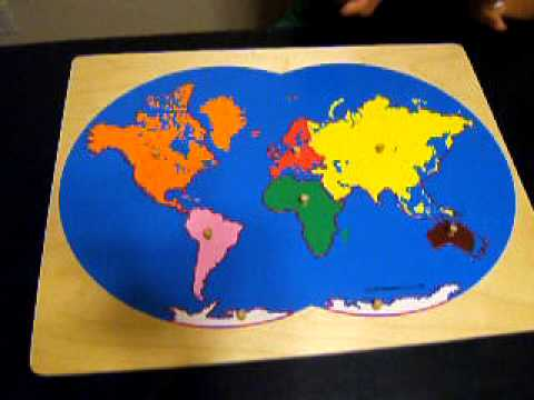 Montessori culturalgeography continent map youtube montessori culturalgeography continent map gumiabroncs Image collections
