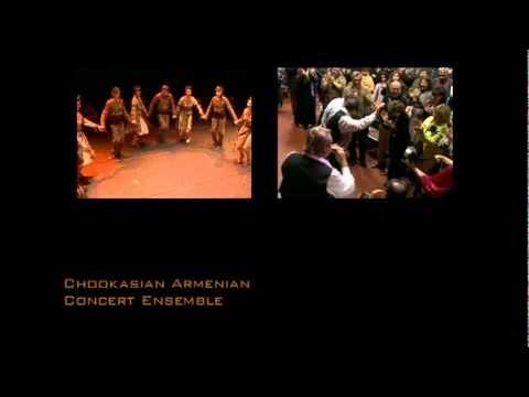 Armenian Folk Music - Chookasian  Ensemble Folk Dance Mix