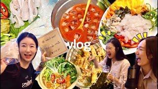 [vlog] 일상 브이로그★ 1인가구 집들이 음식 클라…