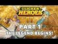 Clicker Heroes 2 Beta Walkthrough: Part 1 - The Legend Begins! - PC Gameplay Let's Play