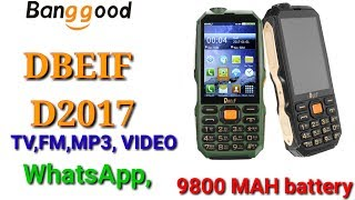 super gadgets,DBEIF, D2017, MOBILE PHONE REVIEW AND BOX,9800MAH, LIVE TV ,FM,WHATSAPP, Tamil