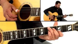 Kentucky Thumbpicking Guitar Lesson - #26 Cannonball Rag - Alonzo Pennington
