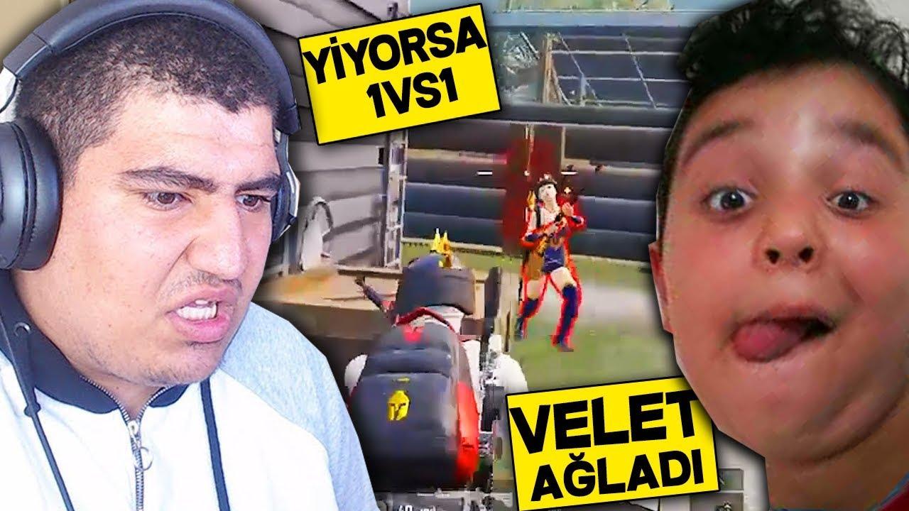 YİYORSA KAR98 VS GEL DEDİ ELİNE VERDİM HİLE DEDİ - PUBG Mobile
