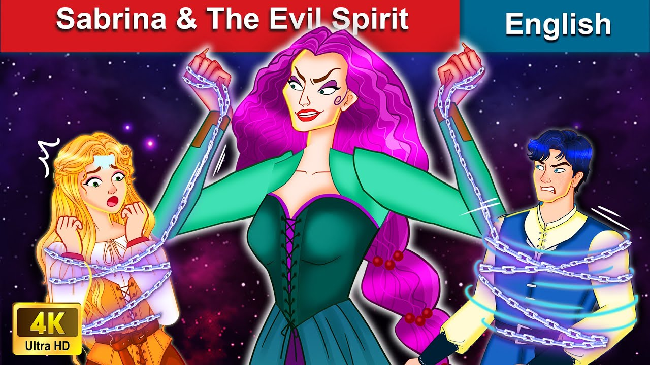 Download Sabrina & The Evil Spirit 👸 Bedtime stories 🌛 Fairy Tales For Teenagers | WOA Fairy Tales