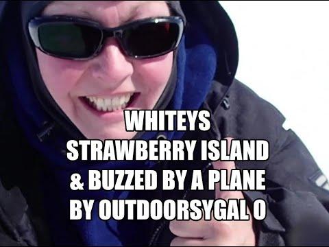 Whiteys, Strawberry Island & Buzzed By A Plane By OUTDOORSYGAL O