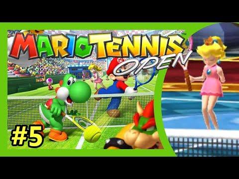 Mario Tennis Open - 3DS [1 Up Mushroom Cup - Star Open #5] Nintendo