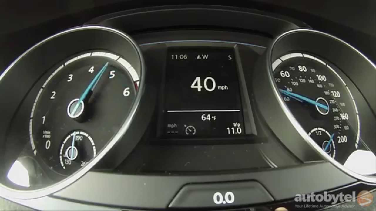 2015 Volkswagen Golf R 0-60 MPH Test Video w/ DSG Transmission
