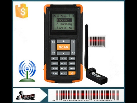 M3 Wireless Barcode Scanner For Stock Inventory