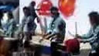2007,5,13 サンセルコ前広場にて.