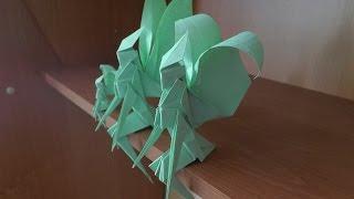 Поделки из бумаги своими руками – фея (Origami Fairy)