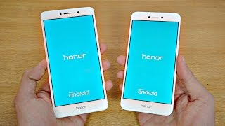 Huawei Honor 8 Lite vs Honor 6X - Speed Test! (4K)