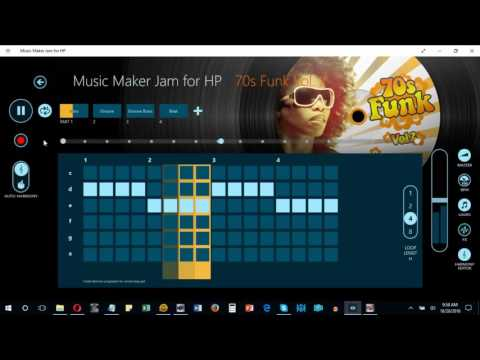 Music Maker Jam - Intro to Harmony Editor