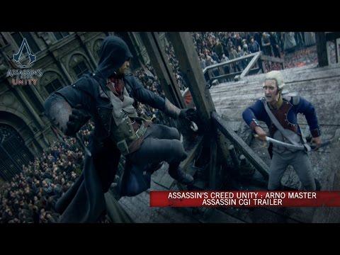 Assassin's Creed Unity : Arno Master Assassin CG Trailer [Europe]
