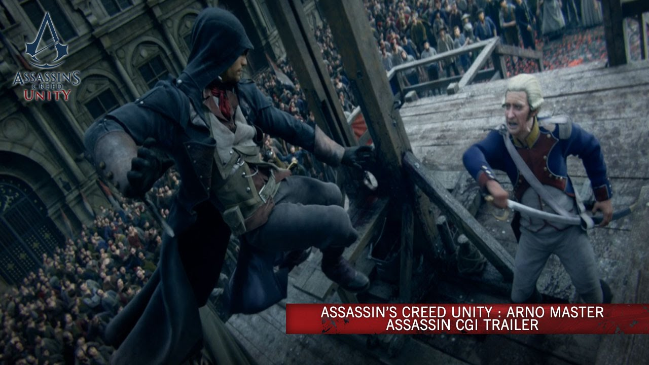 Assassin S Creed Unity Arno Master Assassin Cg Trailer Europe Youtube