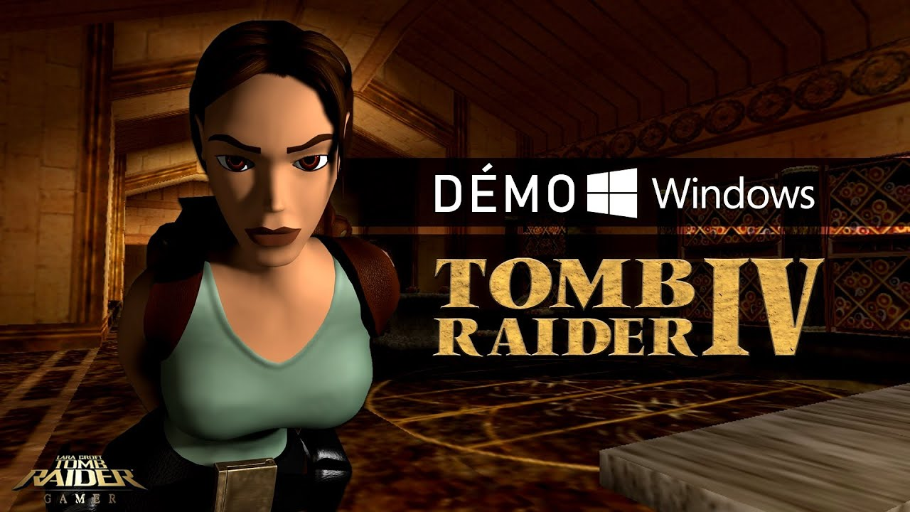 Tomb Raider Iv The Last Revelation 1999 Demo Pc Youtube