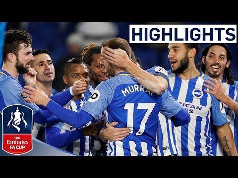 Brighton 2-1 Crystal Palace Official Highlights | Emirates FA Cup 2017/18