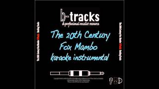 20th Century Fox Mambo karaoke instrumental, Smash