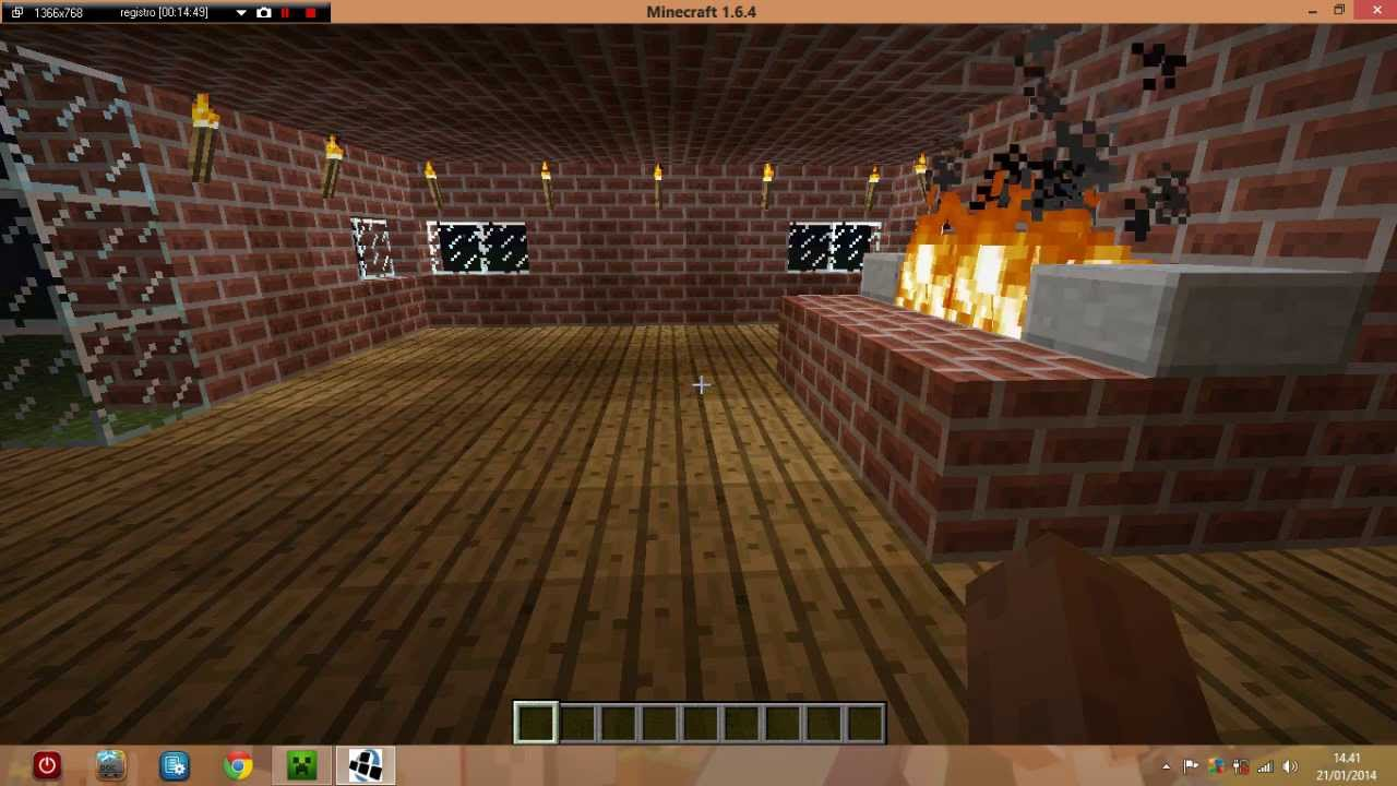 Come Fare Camino Su Minecraft Come Fare Una Casa Grande Con Un Camino In Minecraft