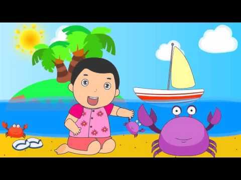 เพลงเด็ก จับปูดำขยำปูนา พร้อมภาพการ์ตูนน่ารัก