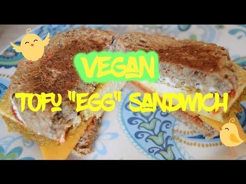 "Vegan Tofu ""Egg"" Sandwich"