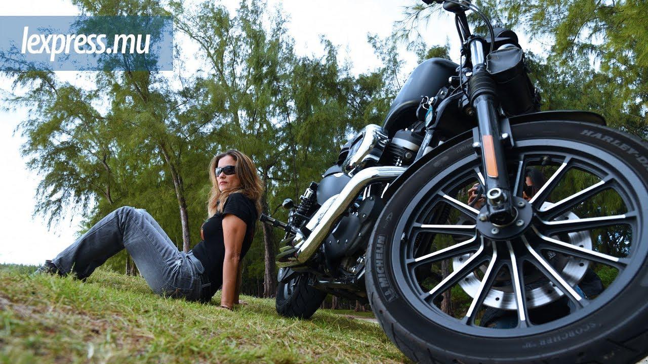 Biker de Harley Davidson : Christine, une