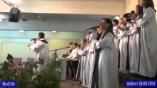 """Песнопение хора церкви """"Любовь Христа"""""""