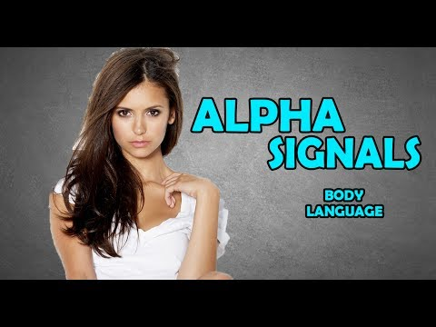ALPHA MALE BODY LANGUAGE | SUBCONSCIOUS SIGNALS | FEMALE MAGNETISM
