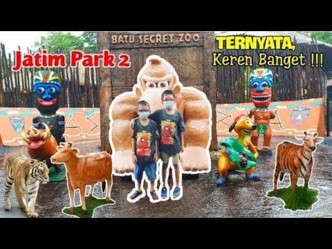 Batu Secret Zoo Jatim Park 2 | Kumpulan Binatang Langka Dari Berbagai Dunia