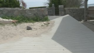Work being done to fix storm damaged beaches