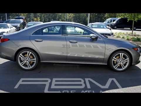 New 2020 Mercedes-Benz CLA Atlanta GA Sandy Springs, GA #M34130 - SOLD