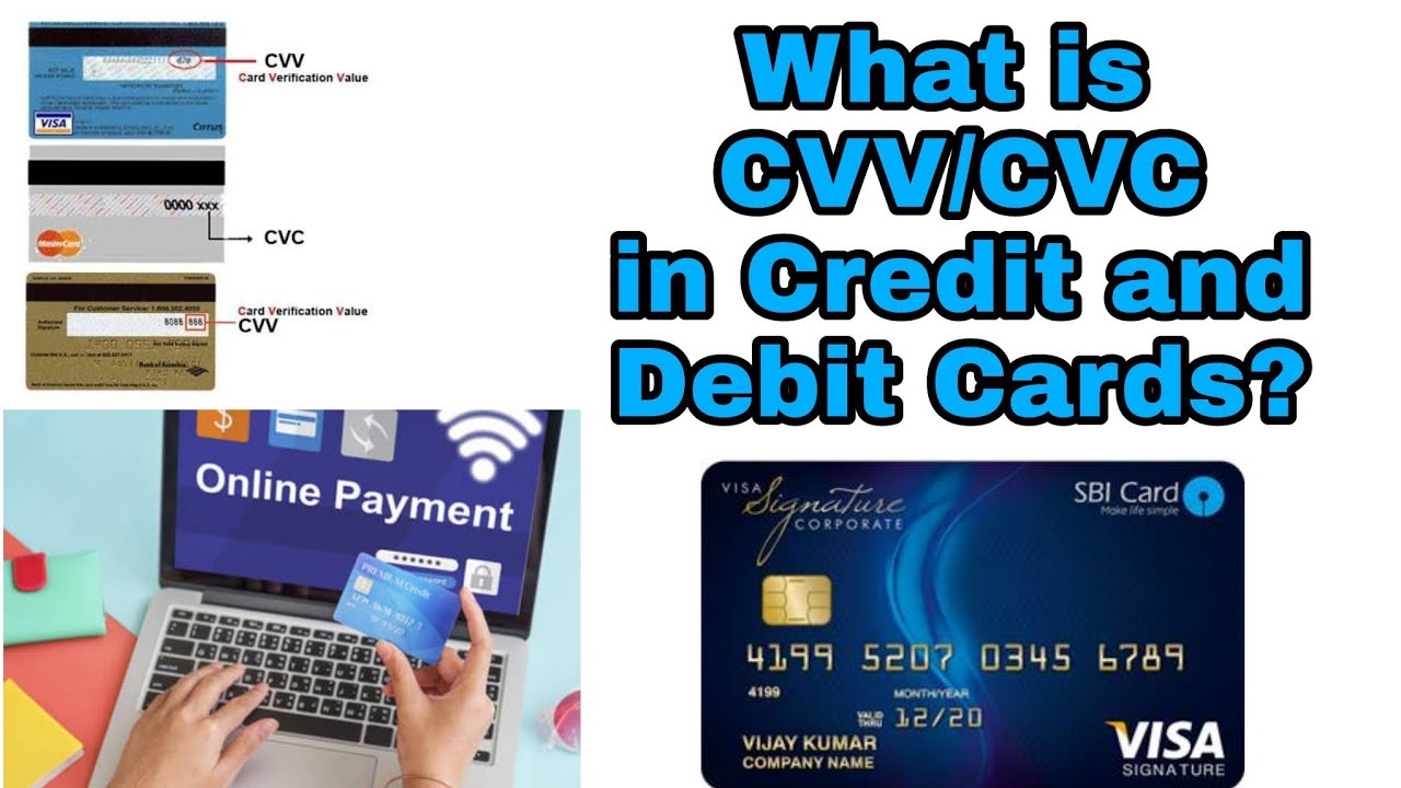 What is CVV/CVC code in Credit and Debit cards?