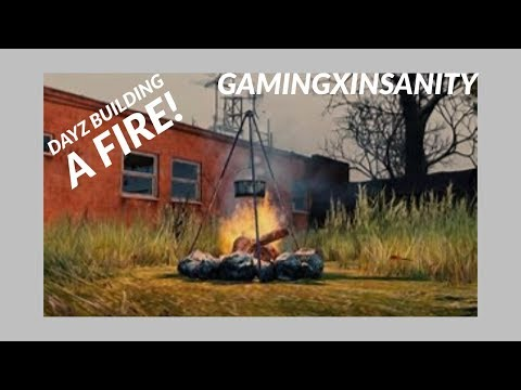 DayZ how to make a fire from nothing!!