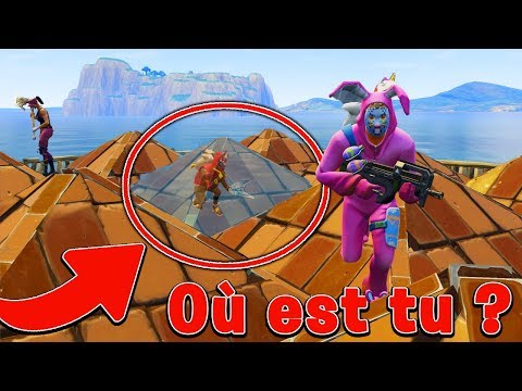 JEU *OÙ ES-TU?* SUR FORTNITE BATTLE ROYALE !!!