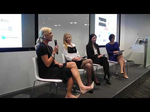 Women in Investment Banking panel 1/3