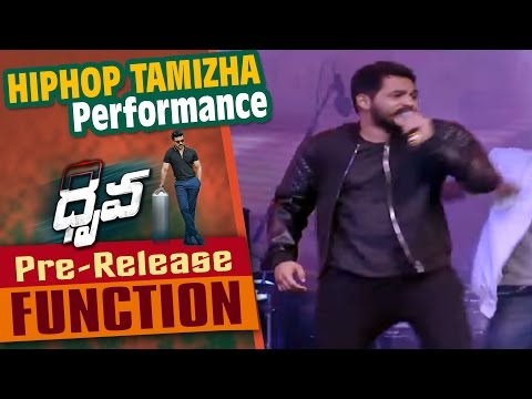 Hiphop Tamizha Performance For Neethoney Dance Song At Dhruva Pre Release Function || Ram Charan