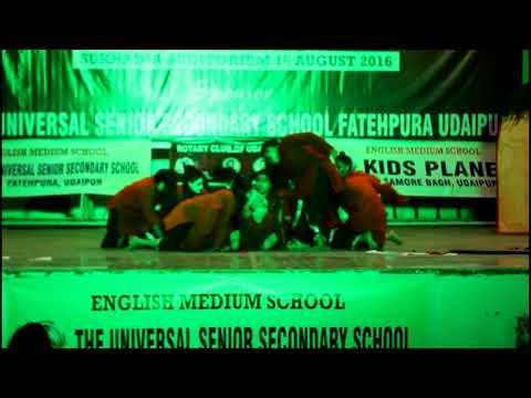 DANCE PERFORMANCE BY GIRLS FEMALE  FOETICIDE THEME choreograph BY  VISHAL SIR