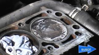junta de culata (practica de limpieza de bloque de motor)