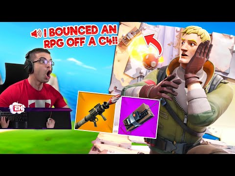 I bounced a ROCKET off a C4 to get the game winning kill! |