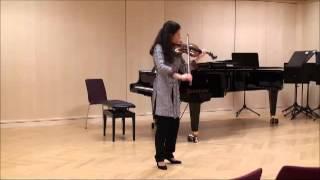 Bach violin sonata 3 - Allegro