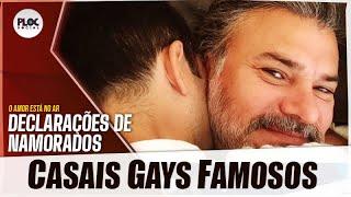 10 CASAIS GAYS FAMOSOS QUE SE DECLARARAM NAS REDES SOCIAIS NO DIA DOS NAMORADOS
