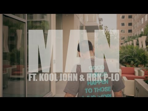 Mike-Dash-E - Man Ft HBK P LO & K00L J0HN (Official Video)