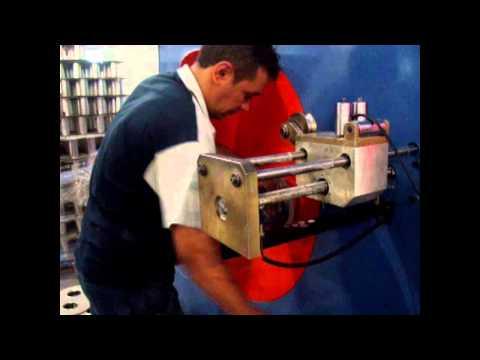 видео: Бухтовщик кабеля полуавтоматический турция