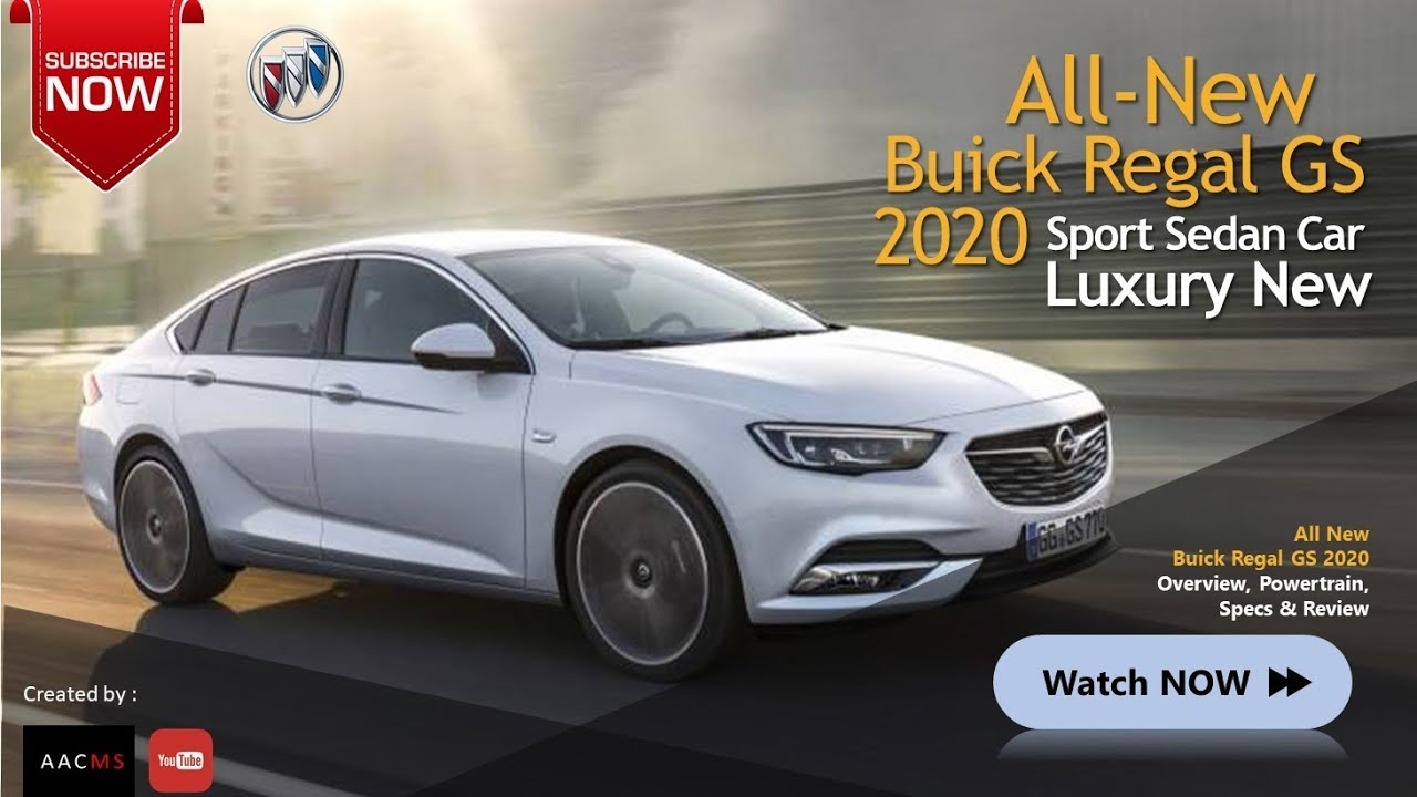 All New 2020 Buick Regal Gs It S So Amazing Sedan Overview Luxury