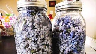 Когда бабулю Замучил РЕВМАТИЗМ, я Набрала цветочков в банку и сделала ...